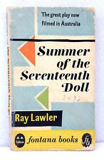 1st edition Fontana Books Summer of the Seventeenth Doll by Ray Lawler 1959 used