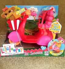 BRAND NEW Lalaloopsy Dolls Radio Control / RC Scooter, 27 MHz Red/Pink (516767)