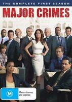 Major Crimes : Season 1 (DVD, 3-Disc Set) NEW