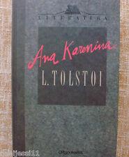 Ana Karenina/ L. Tolstoi/ Orbis-Fabbri/ 1990/ Barcelona/ En buen estado