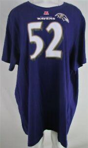 Baltimore Ravens NFL Women's Plus #52 Ray Lewis T-Shirt