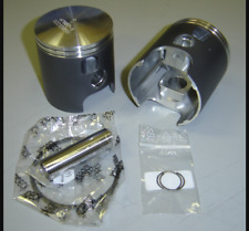 Yamaha Wossner Piston SET TZ R5 R 5 350 65.00mm Pistons Rings Pins Clips  NEW!