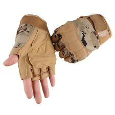 Tactical Sport Fitness Weight Lifting Gym Gloves Training Workout Wrist Wrap Men