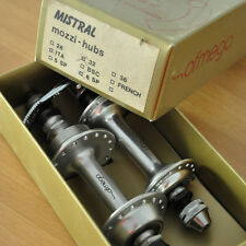 NEW NOS NIB * OFMEGA MISTRAL hubs 32h fits on gipiemme and campagnolo rims Cx