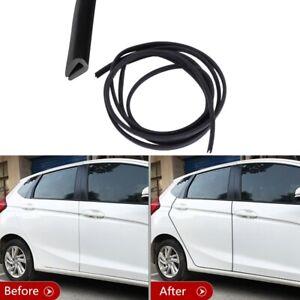 2M Car Body Door Edge Protector Strip Guard Moulding Trim Auto Bumper Rubber