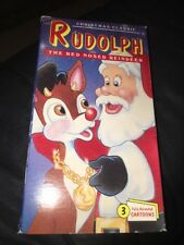 Rudolph The Red Nosed Reindeer (VHS) and other Christmas classics        12/dee