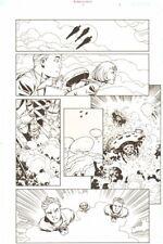 Establishment #7 p.3 Golden Action 'Walking Dead' Artist - by Charlie Adlard Comic Art
