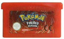 Pokemon Fire Red Version Games for GBA/ Nintendo DS (LIKE NEW EURO VERSION)