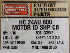 Carrier Bryant FASCO 115v Furnace Inducer Motor HC24AU600 7131-1035 1/16 HP