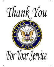 US Navy Thank You For Your Service 10