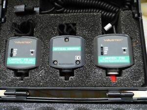 Wavetek Lantek Pro/XL Lichtwellenleiter Verlust Mess Kit fm/fs-850/1300
