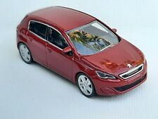 Norev 3 inches 1/64. Peugeot 308 rouge vallelunga   Neuf en boite