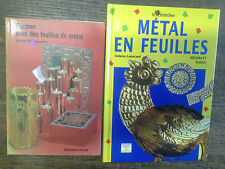 Métal en feuille décors et bijoux  + décorer avec des feuilles de métal