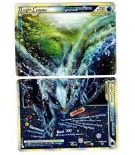 Lugia Legend 113+114/123 Ultra Rare Star Holo Foil Complete Set Both Top/Bottom