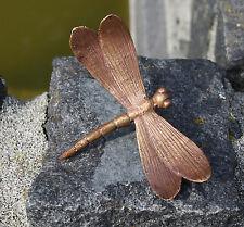 Bronzeskulptur, kleine Libelle , Gartendekoration