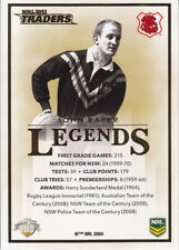 NRL 2013 RUGBY LEAGUE Traders - Raper / Johns Legends Case Card CC-1/2