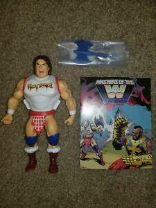 WWE Masters of the Universe Rowdy Roddy Piper  MOTU Evil Hot Rod