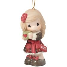 Precious Moments 'Have A Heart-Warming Christmas' 2019 Dated Ornament 191002