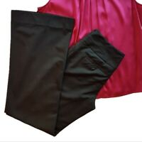 """The Limited woven wide-leg """"Cassidy fit"""" dress pants w/ stretch, Black, Size 0"""