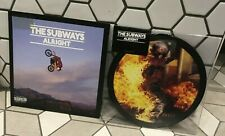 """THE SUBWAYS Alright - NEW 7"""" X 2 PICTURE DISC & VINYL Record  7"""" Single SET"""