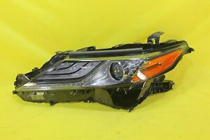 🦋 18 19 20 Toyota Camry XLE D70 Left Driver LH Headlight OEM *GOOD CONDITION*