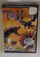 """Everquest II W/ Expansion """"Kinglom of the Sky"""" PC 2006 170536"""