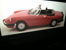 1:18 KK-Modell Alfa Romeo Spider rot/red Limited Edition in OVP