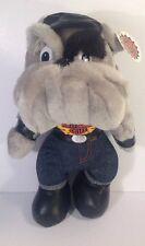 Harley Davidson Motorcycles Plush Bulldog Mascot NWT 2003 Play by Play Boots/Cap