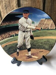 Walter Johnson THE SHUTOUT The Legends of Baseball Collectors Plate 1993