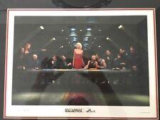 BATTLESTAR GALACTICA Sci-Fi TV Season 4 Finale PRESS KIT Framed Picture + DVD