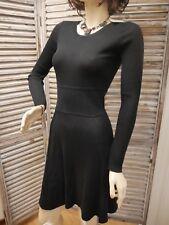 PABLO de GERARD DAREL ROBE NOIRE ML BRIDIE T 2 38/40 élégante & féminine amincit