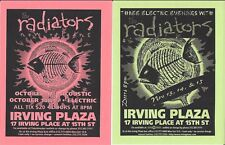 The Radiators from New Orleans Concert  Handbill Flyer 1990's  NYC