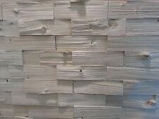 1m² Holz Riemchen, Holzfliese, Spaltholzriemchen, Wandverkleidung