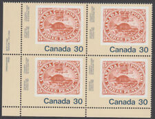 Canada - #909 Canada '82 International Youth Exhibition Plate Block - MNH