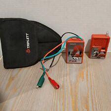 Triplett Fox and Hound Probe Tone Generator Electric Trace Older Generation
