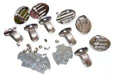 Taschenverschluss Steckschloss / Mappenschloss 25x33mm, 5 Stück nickel