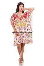 Women Maternity Dress V-Neck Pregnancy Clothes Party Dress Indian Ombre Mandala