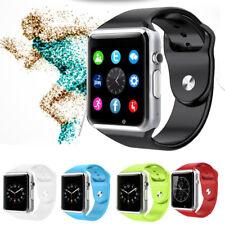 Premium SmartWatch A1 Bluetooth Uhr SAMSUNG GALAXY S7 Android SIM 8 Farben Sport