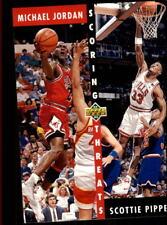 Michael Jordan/Scottie Pippen #62 Upper Deck 1992/93 NBA Basketball Card
