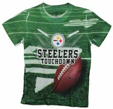 Pittsburgh Steelers TOUCHDOWN NFL Youth T-Shirt Shirt, Green
