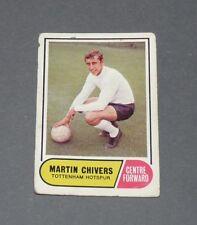 A & BC GUM CARD FOOTBALL ENGLAND 1969 MARTIN CHIVERS TOTTENHAM HOTSPUR SPURS