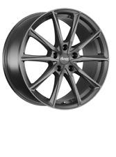 4x NEUE Alufelgen Advanti Racing Centurio Dark 7.5J X 17 Zoll LK 5 X 100 ET 40