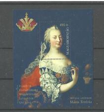 D 2245.Hungary 2017. MARIA THERESA WAS BORN 300 YEARS AGO MNH BL