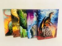 Wings of  Fire Scholastic Book Lot Books 4, 5, 6, 7,  8 New