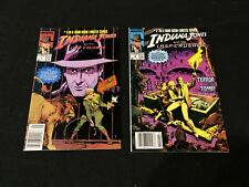 Indiana Jones Marvel Comics Complete Four Issue Limited Series 1-4