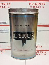 Cyrus By Jacques Evard Men Cologne EDT Spray 3.3 3.4 oz / 100 ml NIB Seal Discou