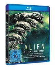 Alien Part 1 2 3 4 5 6 Return Reincarnation Prometheus Covenant Blu-Ray Box New