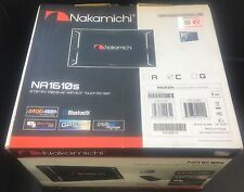 "NAKAMICHI NA1610S 6.2""indash Touchscreen GPS Navigation Bluetooth/DVD/CD/AUX/USB"