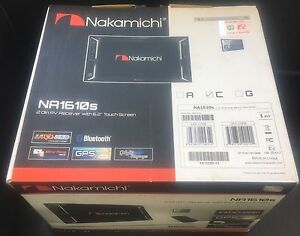 "NAKAMICHI NA1610S 6.2""indash Touchscreen GPS Navigation Bluetooth/DVD/CD/AUX/USB"