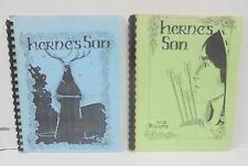 Robin of Sherwood HERNE's SON Volumes I and II Adult Fanzines VERY SCARCE